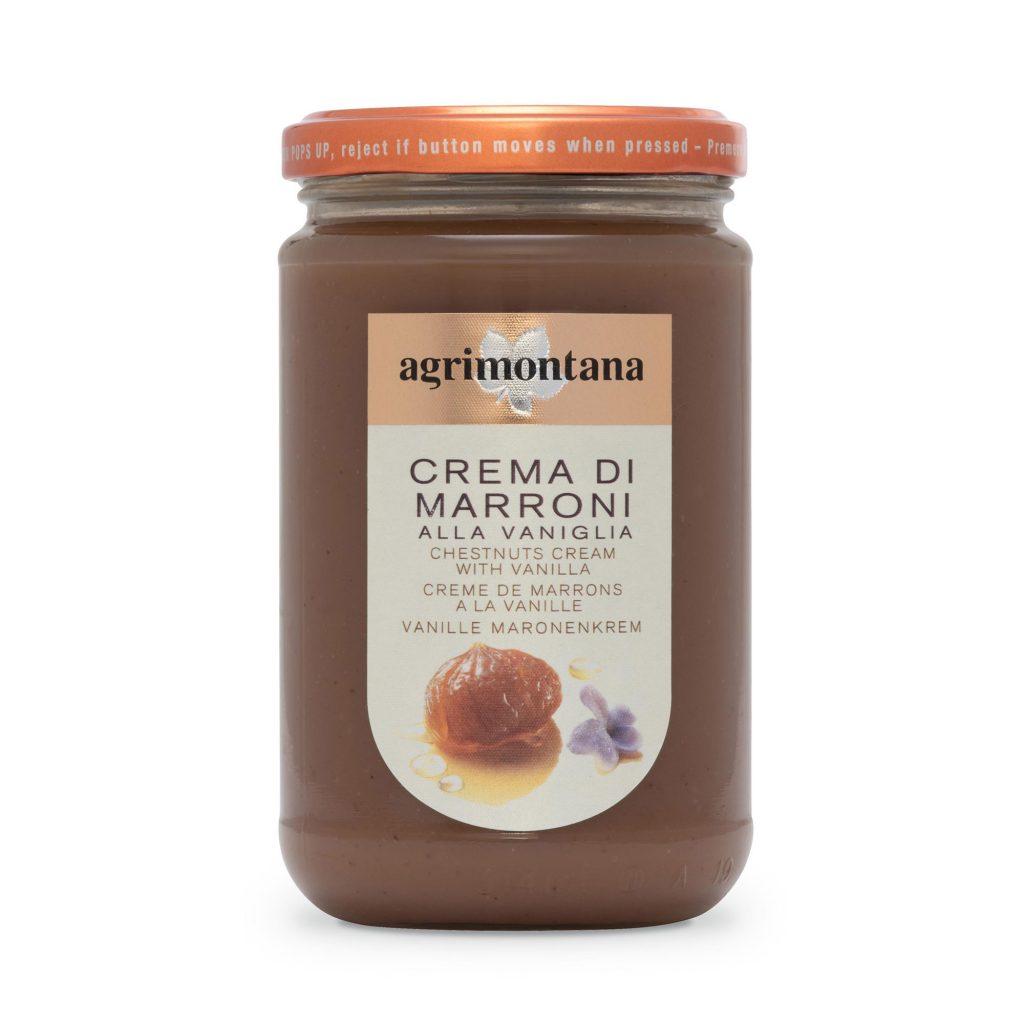 Crema di marroni con vaniglia