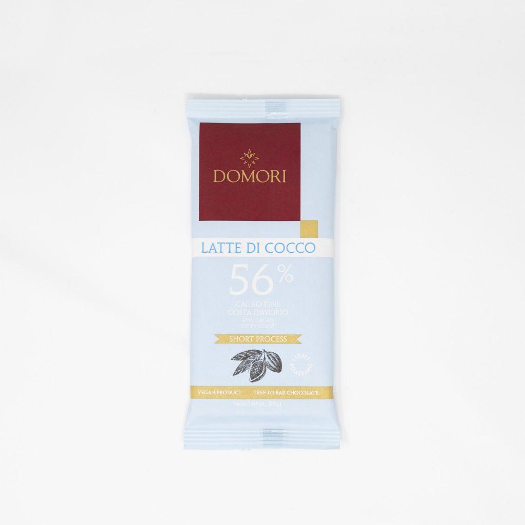 I 75g Domori - Latte di cocco 56%